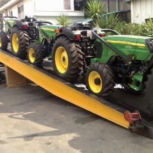 Convient également à l'équipement lourd spécial - peut transporter jusqu'à 10 tonnes