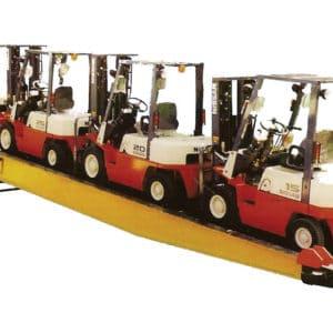 Idéal pour le chargement et le déchargement de conteneurs à l'aide d'un chariot élévateur à fourche