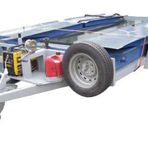 Équipé d'un système mobile sur une remorque pour faciliter le transport et le déploiement dans chaque emplacement nécessaire.