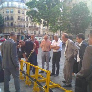 Presentation of MVB in Paris