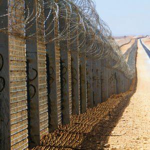 Clôture le long de la frontière israélo-égyptienne